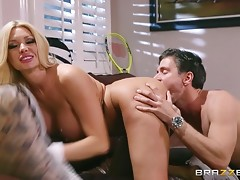 The amazing Summer Brielle enjoys training her body to fuck hardervideo